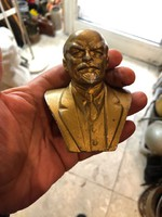 Lenin büszt, gyűjtőknek kiváló, 8 cm-es magasságú.