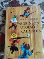 Dékány András: Robinson utolsó kalandja, alkudható!