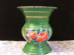 Régi zománc váza