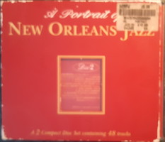 A PORTRAIT OF NEW ORLEANS JAZZ   2 CD  JAZZ