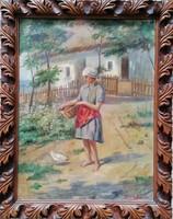 Udvardy Flóra Festmény