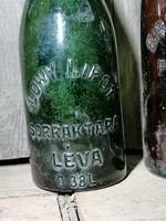 Antik sörösüveg padlásról 1. LÖWY LIPÓT sörraktára LÉVA