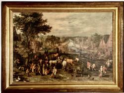 Jan Brueghel nyomatkép