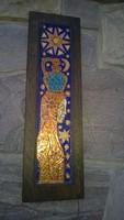 Csodás zománc falikép -Képcsarnokos Korsós leány