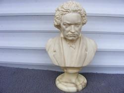 Beethoven büszt biszkvit márvány talpon