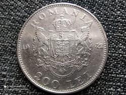 Románia I. Mihály .835 ezüst 200 Lej 1942 (id41626)