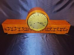 Jantar kandalló óra működő szép állapotban