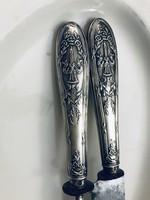 Francia 19.sz-i ezüst szervírozó