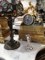 Ezüst talpas kis váza. Art Deco stílus. Diana.