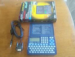Retro Sharp EL-6890P kalkulátor dobozában