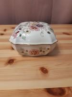 Zsolnay lepkés bonbonier, vitrin állapotban