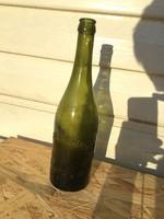 Antik sörös üveg - sörösüveg Sigmond Testvérek - Szeged - Egyedi ritka