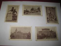 Gyemek képeslapok , Gyermek Posta Hivatal stemplivel , a 20 évekből 95 x 60 mm