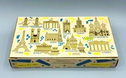 Régi Szerencsi Metropolisz desszert papírdoboz 1976