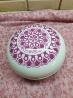 Alföldi porcelán, festett, virágos bonbonier eladó!