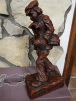 Bruder Straubinger viasz szobor 33 cm