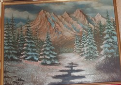 Balogh : Alpesi táj