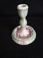 Herendi porcelán, Bakos Éva festésű gyertyatartó, ami lámpának is átalakítható