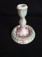 Herendi porcelán, Bakos Éva festésű gyertyatartó, és lámpatest egyben
