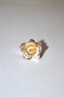 Masszív rózsa gyűrű