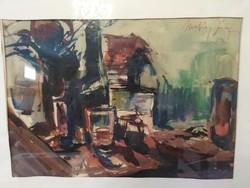Makay József festmény