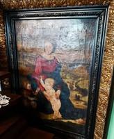 Mária Magdolna kis Jézussal és Keresztelő Szent Jánossal