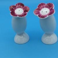 Virág alakú Arzberg asztali fűszerszóró pár