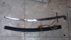 Régi kard, 91 cm-es hosszúságú, 76 cm pengehossz, lakberhez.