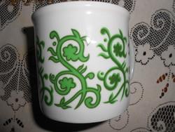 Retro  Zsolnay porcelán csésze 3 dl.
