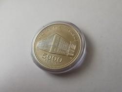 Károli ezüst 5000 Ft 31,46 gramm/0,925 Ritka