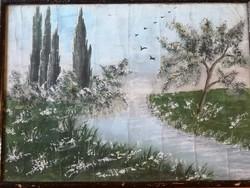 Antik kép festmény?