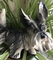 Nagy Skót Terrier Kerámia 22 cm