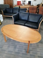 Vintage 1960 as Wilhelm Knoll cseresznyefa dohányzó asztal