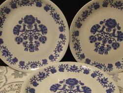 Alföldi porcelán kék virágos falitányér,dísztányér
