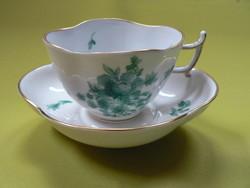 Antik Herendi csésze, Meisseni stílusban, 1930