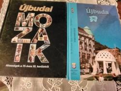 Kettő könyv Újbudáról .