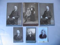 Antik műtermi fotók (1900-as évek eleje)
