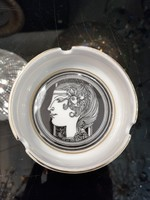 Hollóházi Szász Endre porcelán hamutártó FL-01