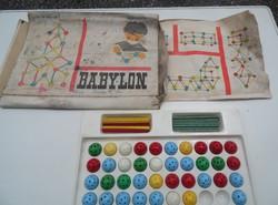 Régi BABYLON építőjáték a 80-as évekből.