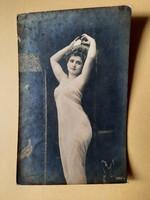Antik levelezőlap - fotó