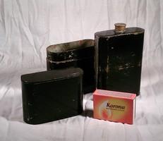 Régi katonai fém flaska