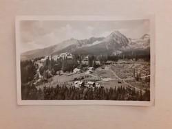 Régi képeslap 1948 Tátra levelezőlap