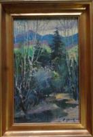 Usik Stepan Grigorovich(1925-2001) tájképe