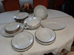 Csehszlovák Bohémia étkészlet 23 részes