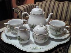 Hollóházi teás készlet eladó !