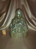 Zsolnay antik figura, Szikorszky Lívia szignóval  1910,