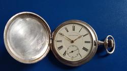 Union Horlogere ezüst zsebóra