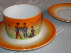 Teás csésze Zsolnay porcelán