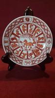 Kínai horoszkópos porcelán tányér 2.