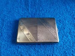 Agárfejes ezüstdózni,gravírozható